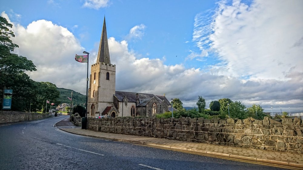 St. Patrick's Parish Church in Glenarm.