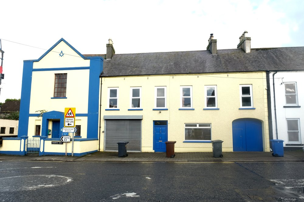 Glenarm Masonic Hall.