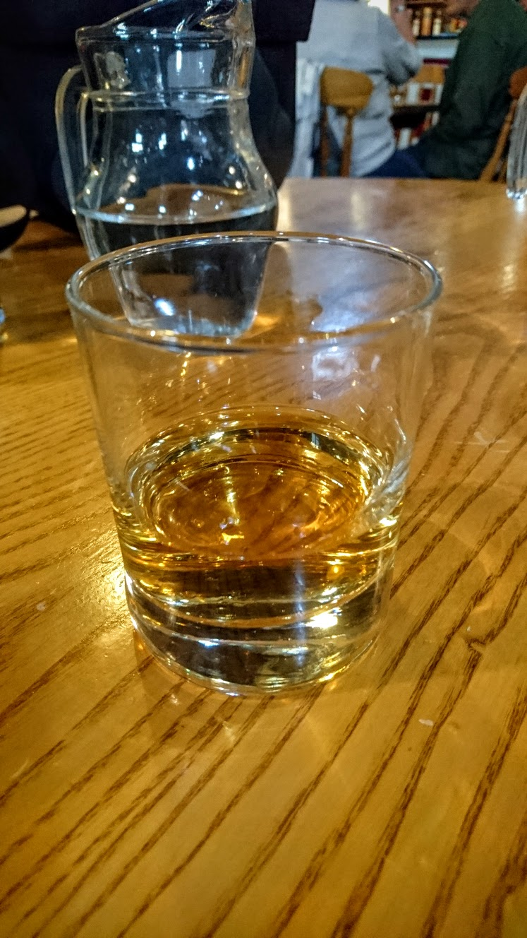 Bushmills 12 Year. Wonderfully tart and fruity at the same time.