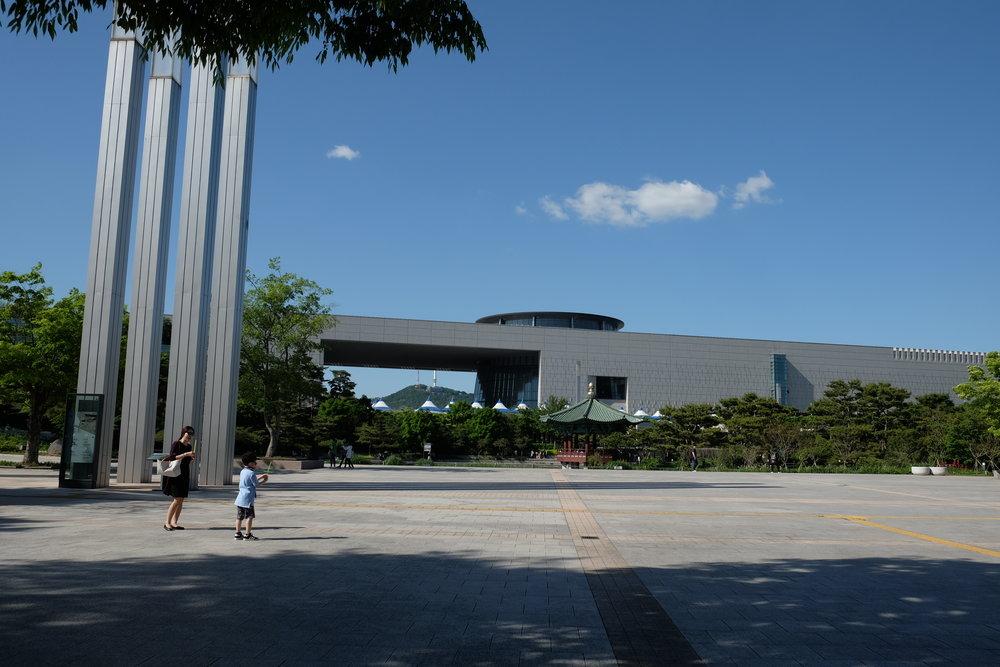 National Museum of Korea, 137 Seobinggo-ro, Seobinggo-dong, Yongsan-gu. Free admission. Open everyday except Mondays.