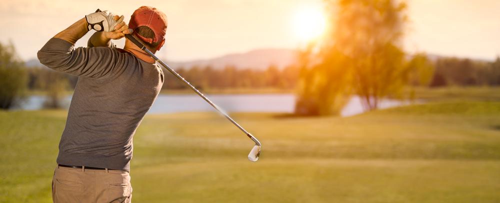 Golfer-Arrangement