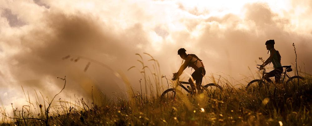 Bike-Wochenende durch die Rhön