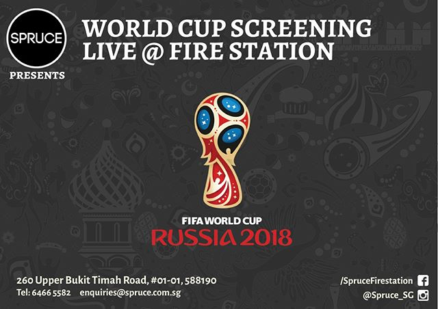 Be sure to join us this week for the following live screenings of the World Cup! 10pm, 26th June 2018 - Denmark vs France 10pm, 27th June 2018 - Korea vs Germany Call us at 6466 5582 to make sure you get the best seats on the house! #singapore #event #events #eventssg #bookings #party #partysg  #sgparties #sgbookings #wedding #hungry #foodiessg #singapore #bukittimah #oldfirestation #thirsty #eat #drink #sg2018 #westsg #westsidesg #eatsg #foodporn #foodsg #score #football #bistro #livemusic  #worldcup2018 #worldcup