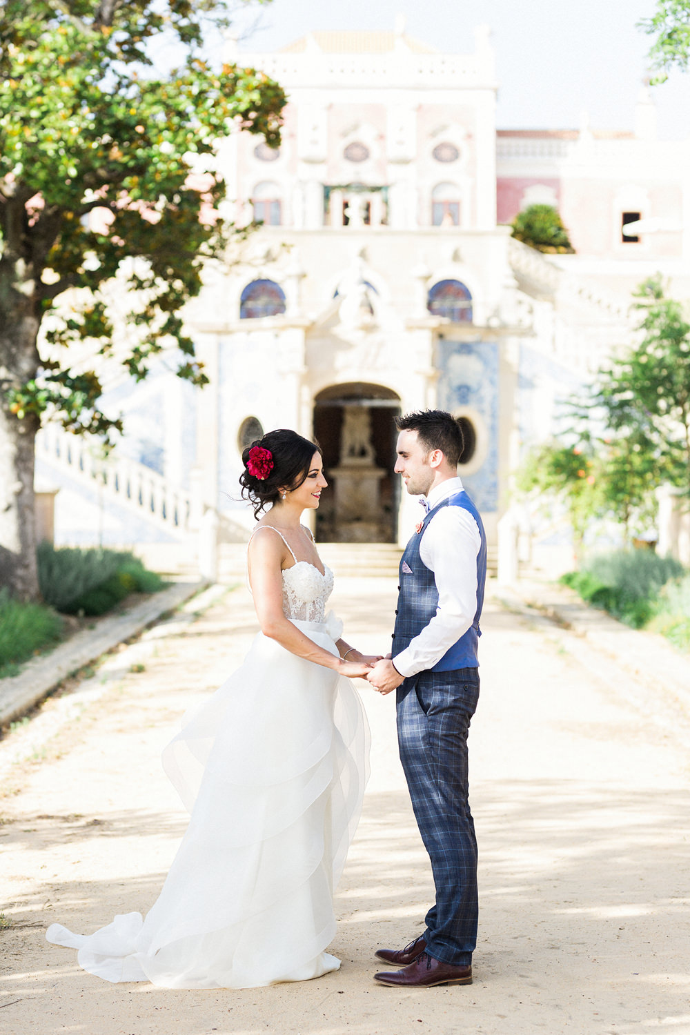 estoi palace wedding photography algarve