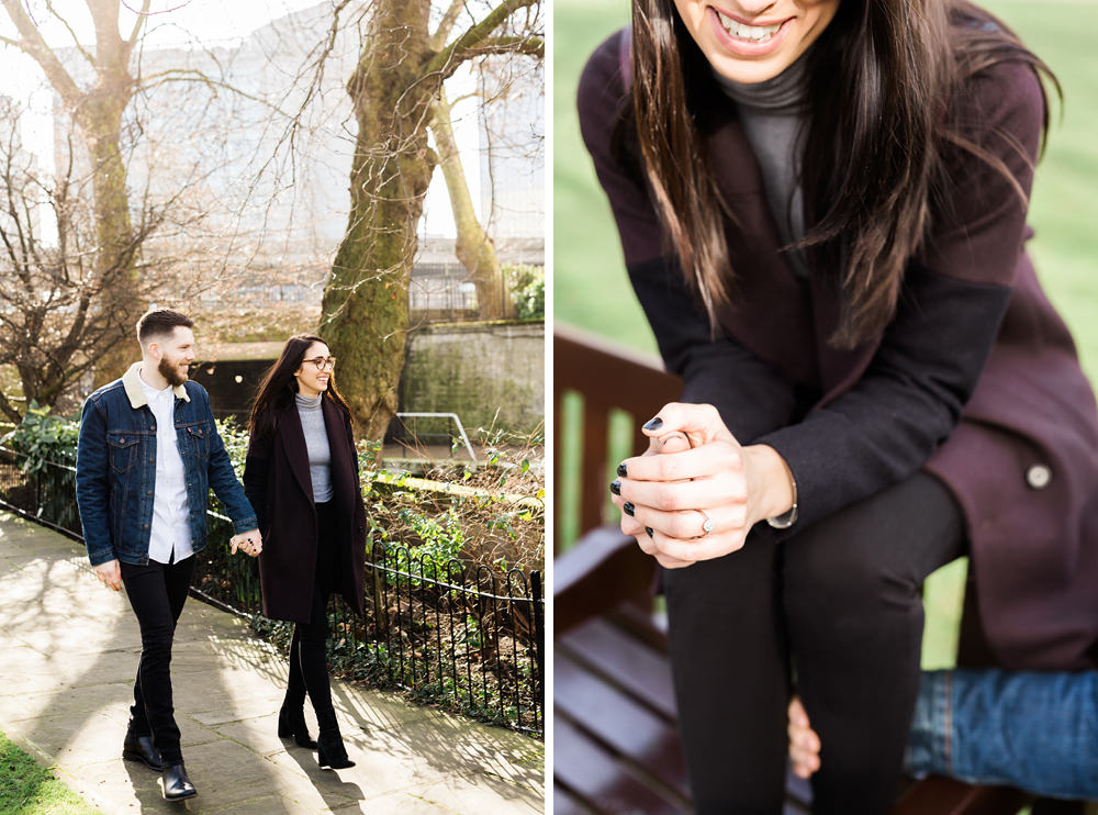 engagement photography in London - England
