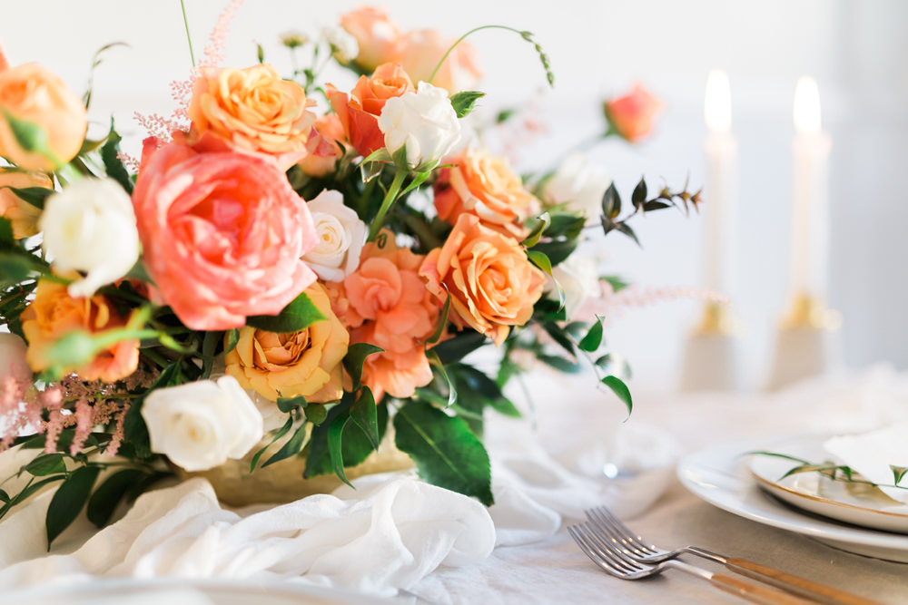 wedding tablescape styling inspiration in Lisbon, Portugal