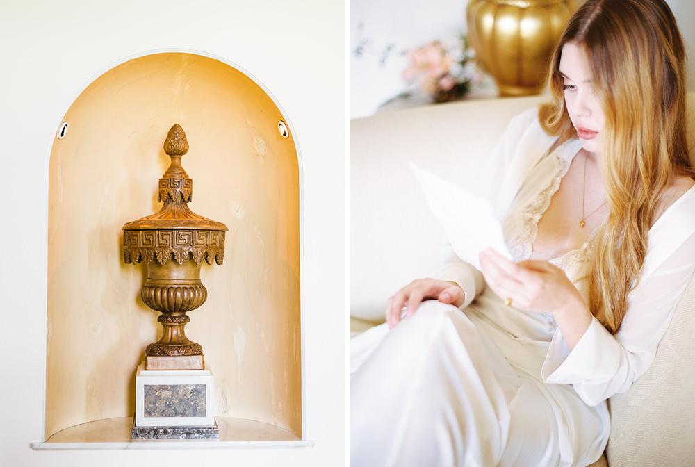 timeless bride wedding portrait