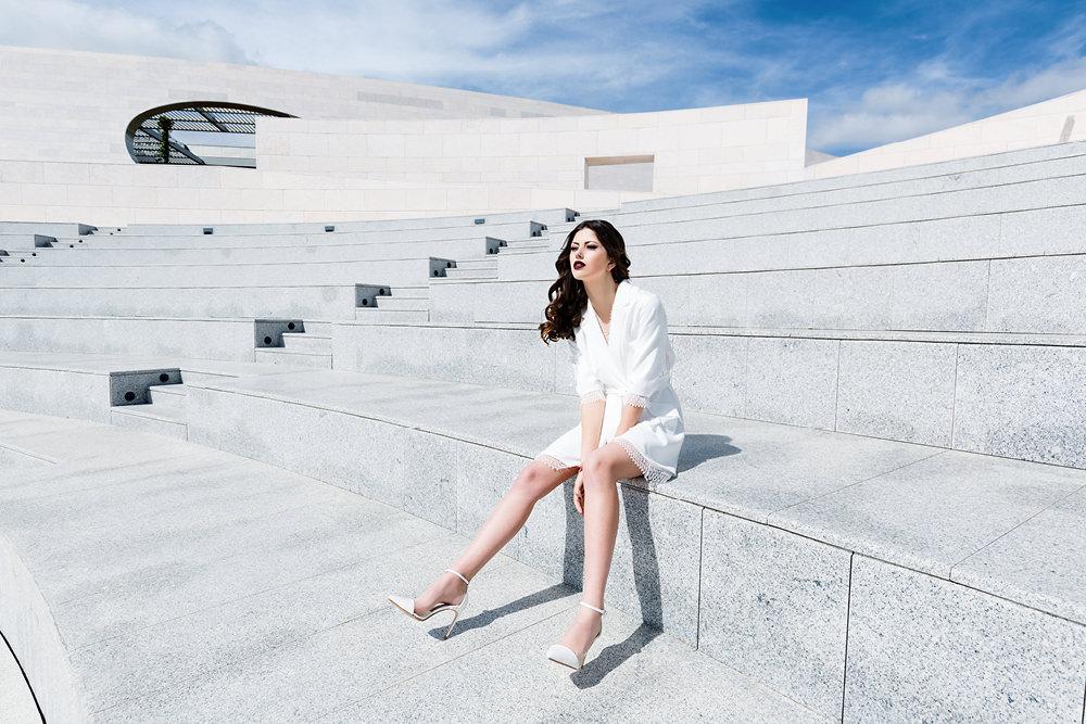 Fashion Wedding Editorial in Lisbon with Rime Arodaky dress