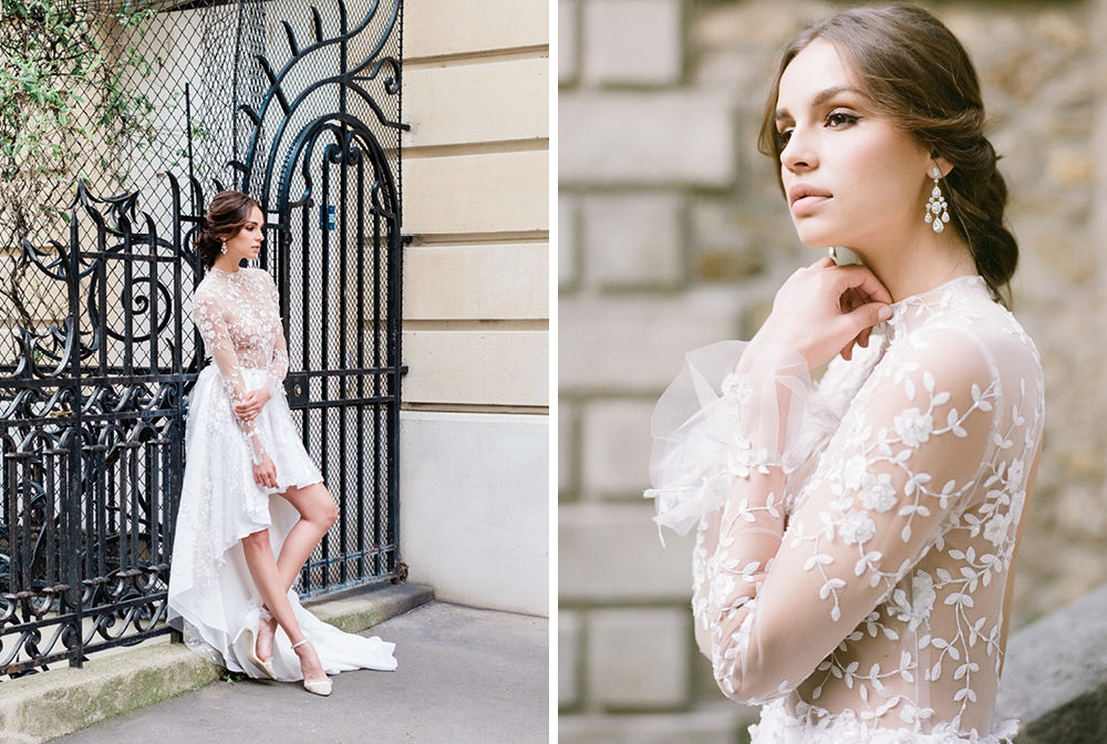 fashion bride wedding photography in paris