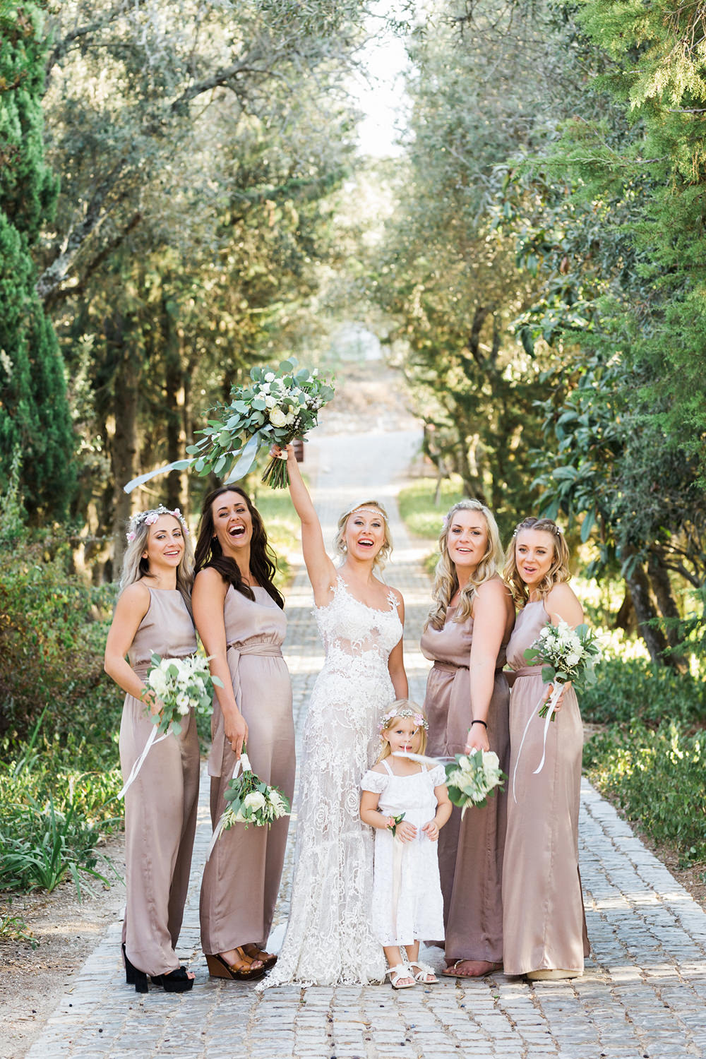 portugal fineart wedding photography bridesmaids agostos