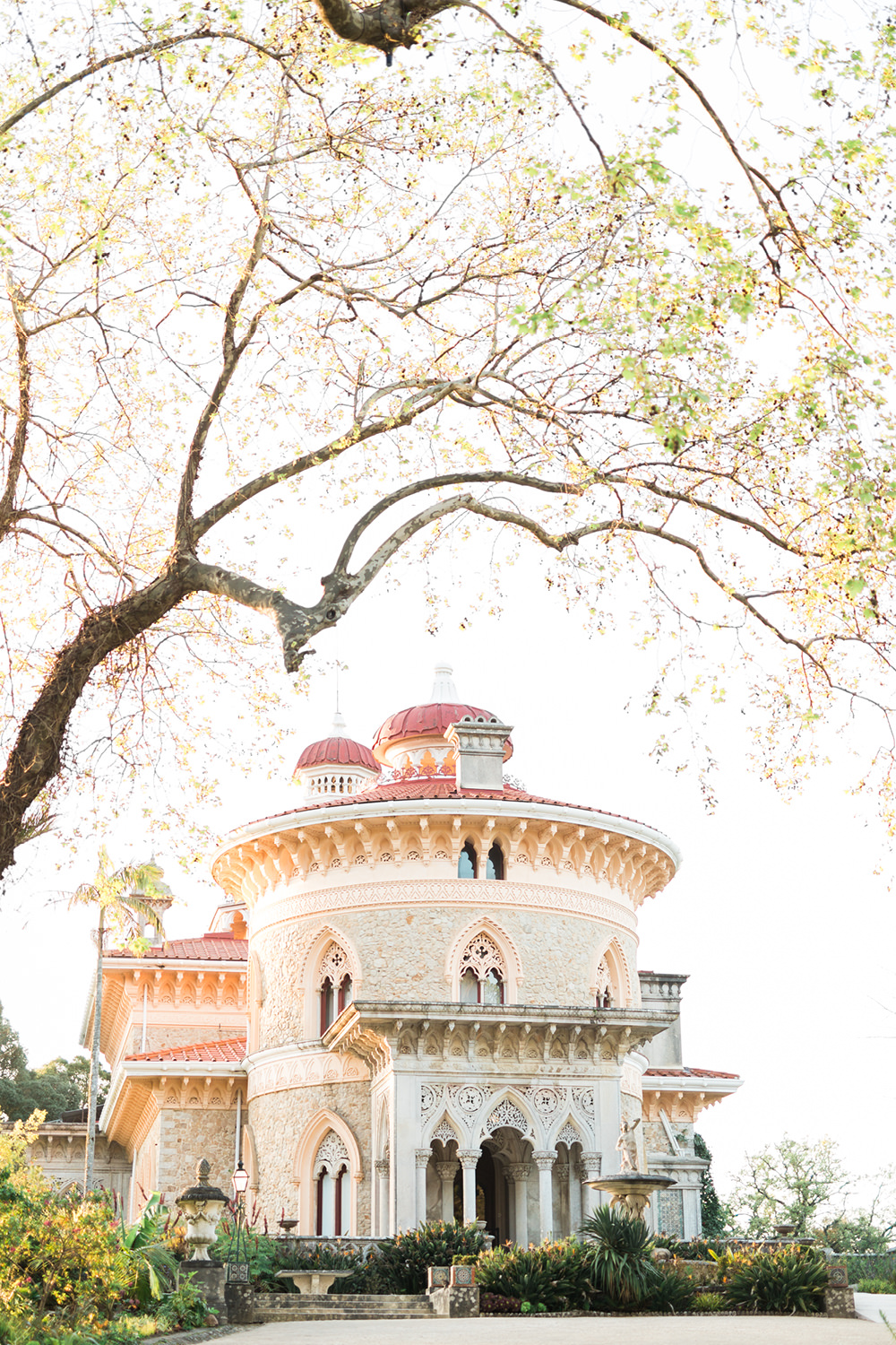Elopement Wedding Photography, Monserrate Palace in Sintra