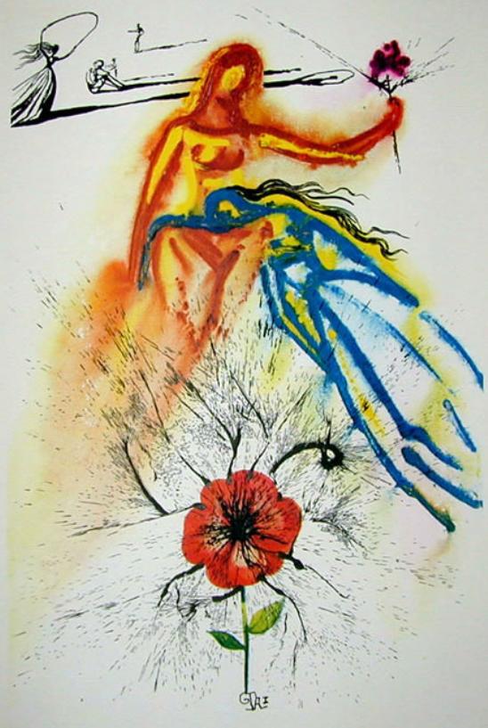 Alice's Evidence, Salvador Dali 1969