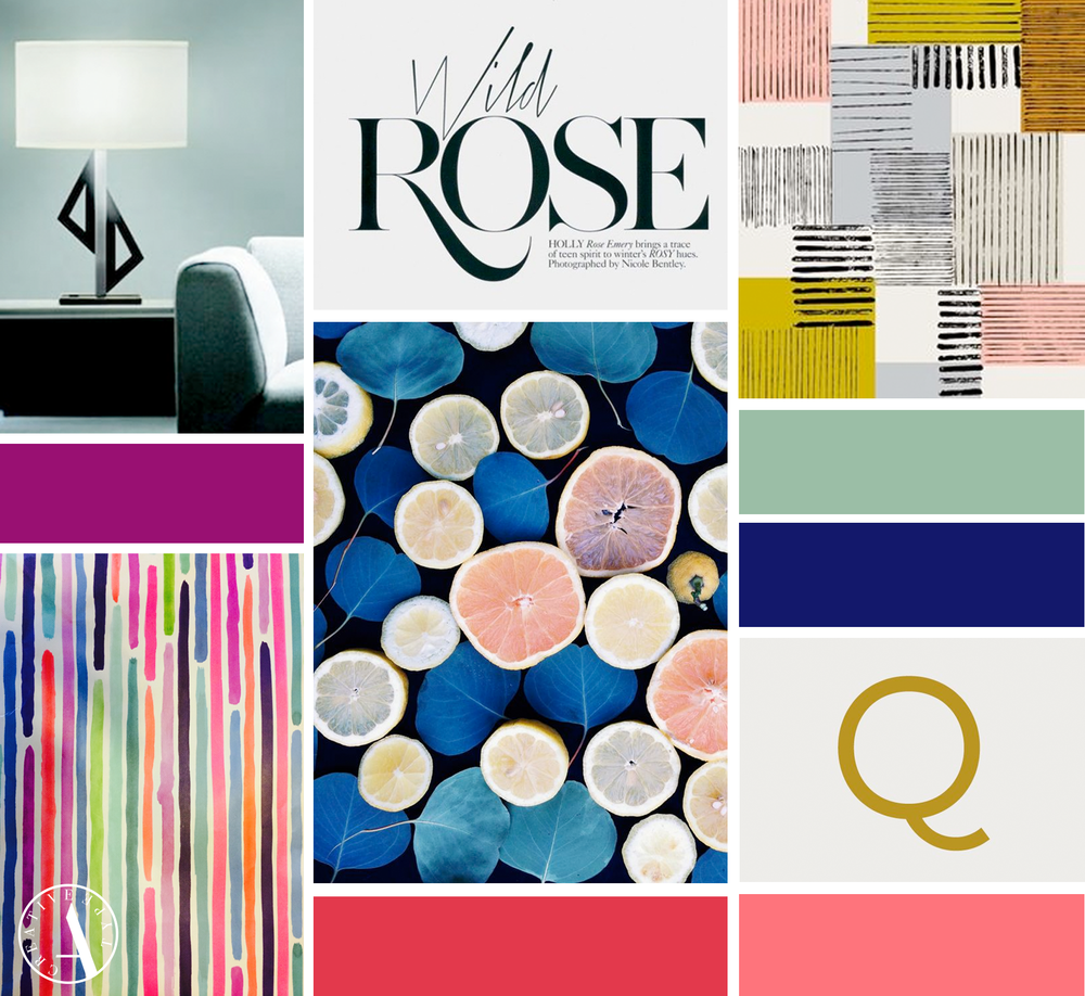Design Lines Inspiration Board | Identity by Creative Type A