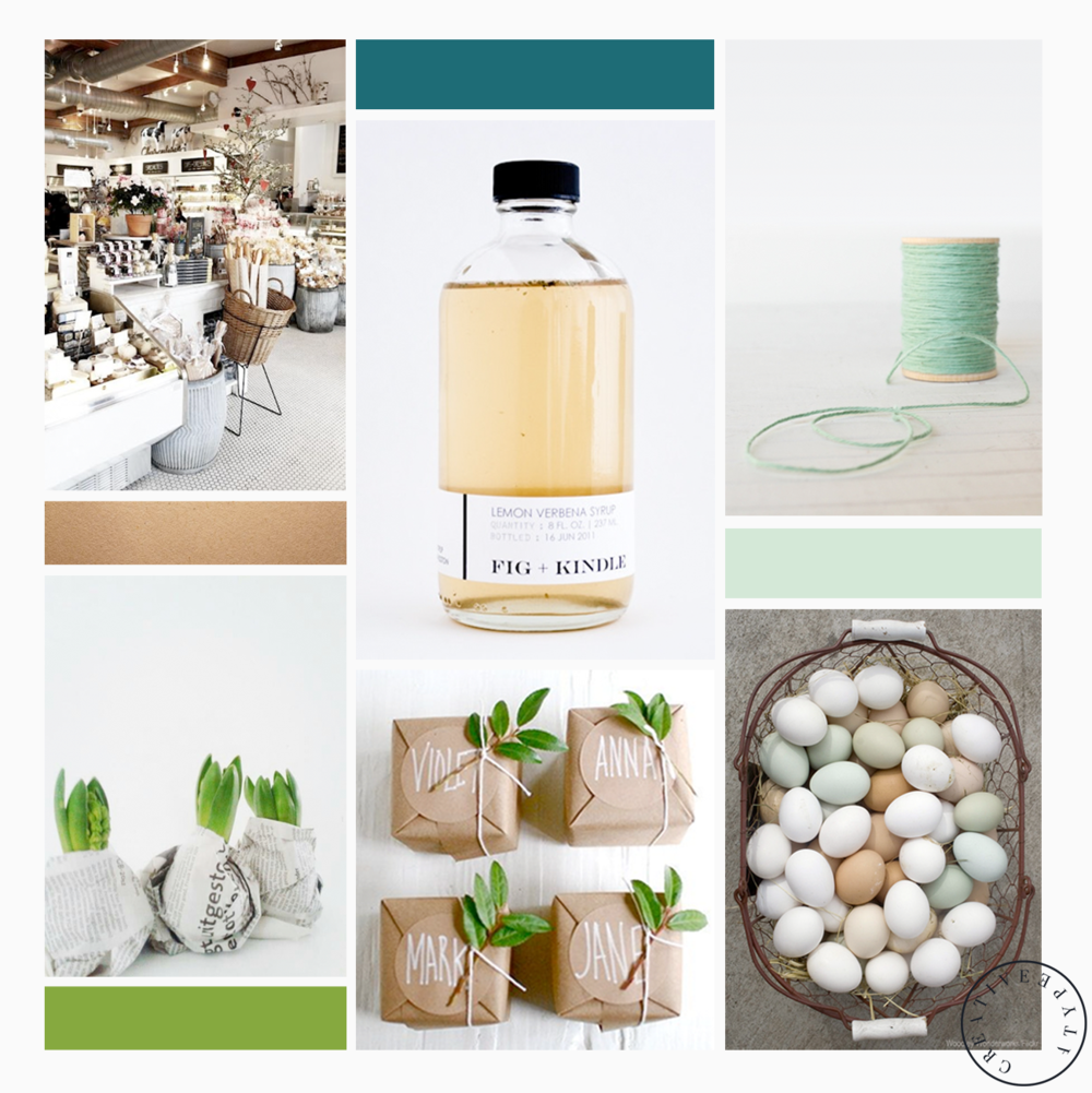 Darcy's Botanicals Moodboard | Creative Type A