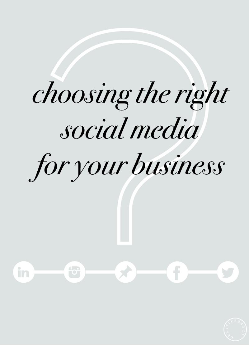 Choosing the Right Social Media Platform for Your Business | Creative Type A