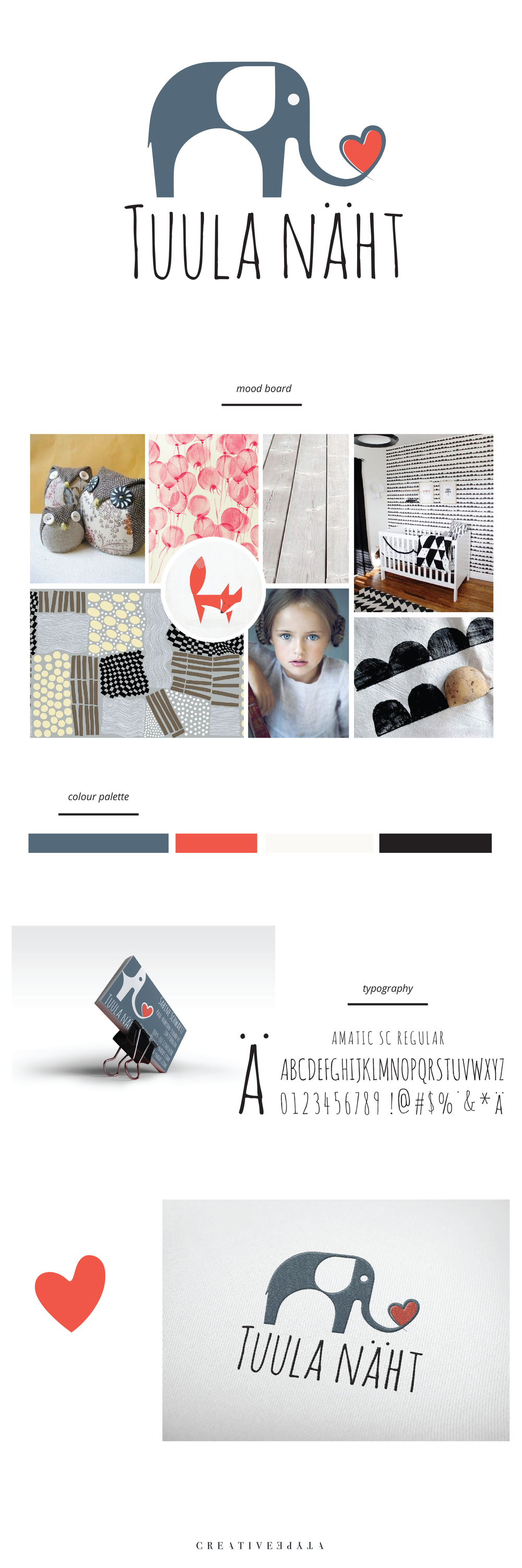 Tuula Naht Brand Board | Identity and Collateral by Creative Type A