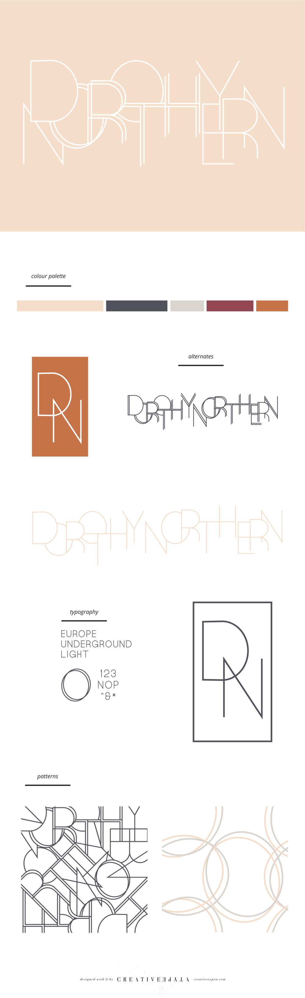 Dorothy Northern Branding Board | Creative Type A
