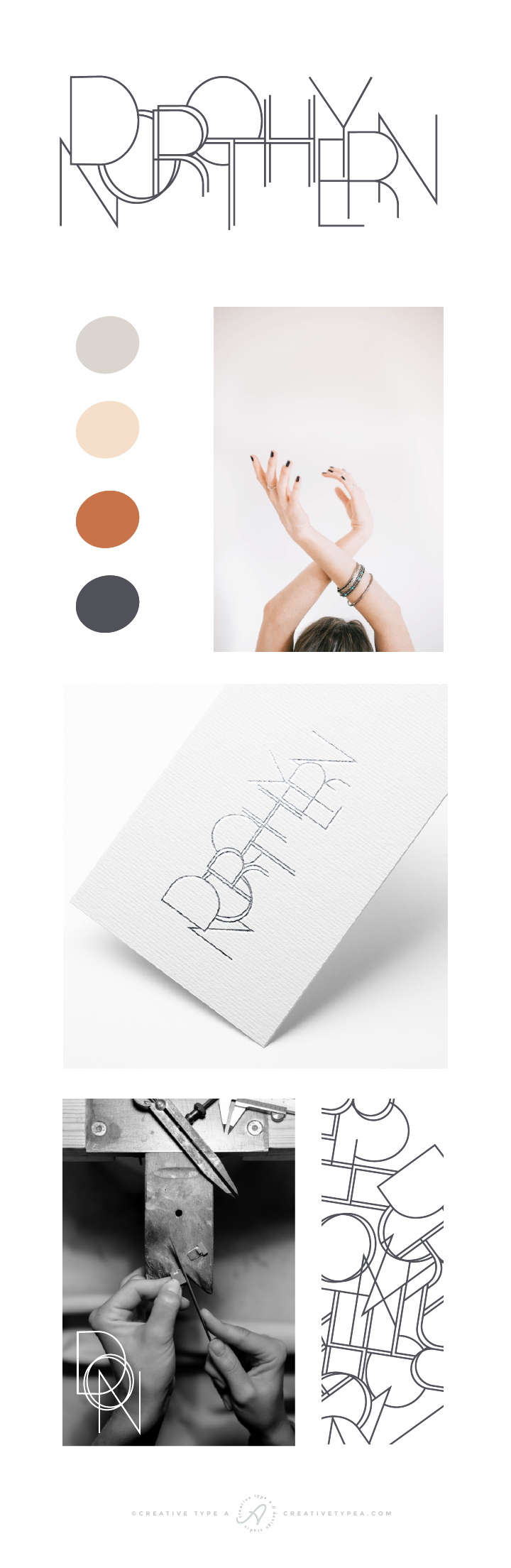 Dorothy Northern Branding Board | Logo + Branding Design by Creative Type A