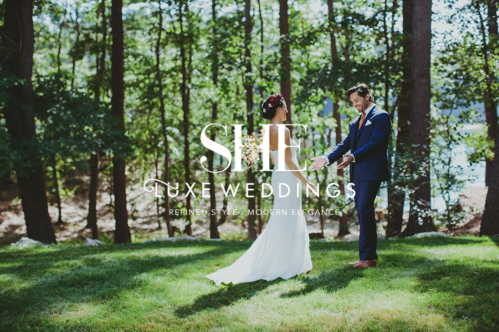 SHE Luxe Weddings | Branding and Squarespace Web Design by Creative Type A