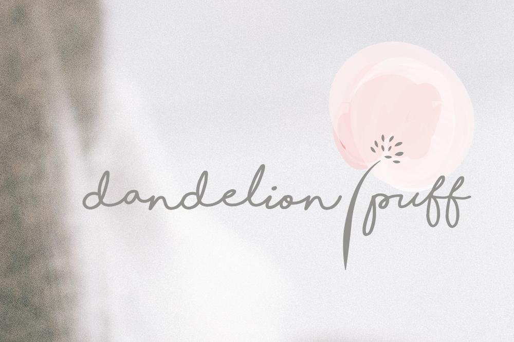 Dandelion Puff / brand design by Creative Type A