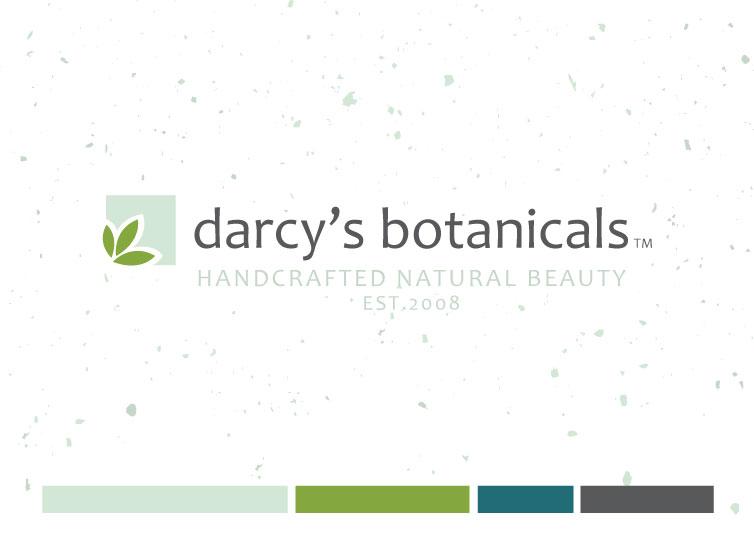 Darcy's Botanicals Brand Design