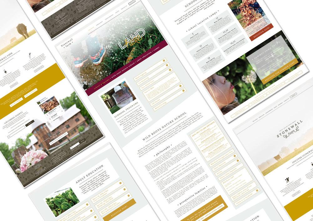 Stonewall Farm WordPress Web Design