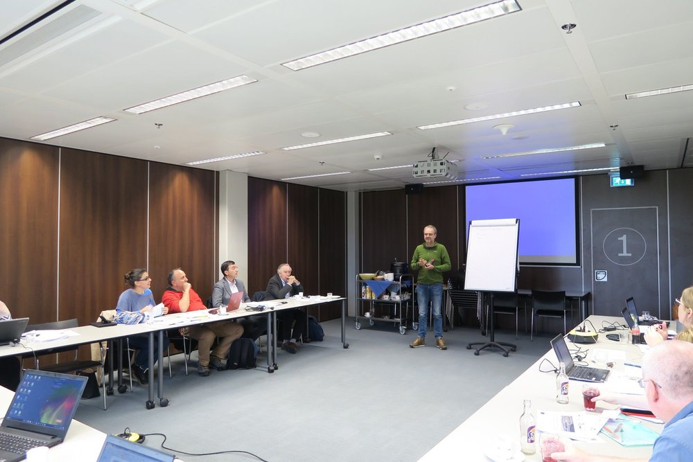 TAPAS WP3 Workshop on Environmental Risk Assessment models in Wageningen, The Netherlands organised by Alterra.