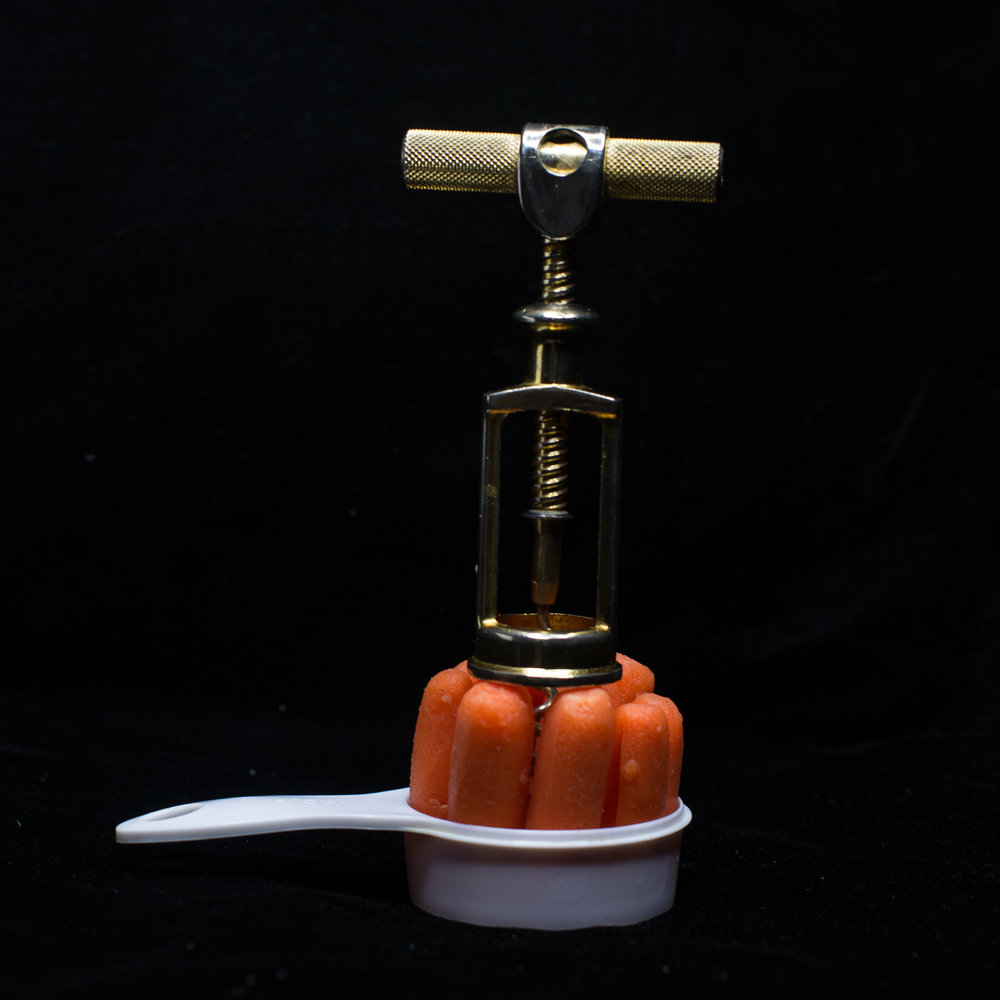 C Corkscrew Carrot Cup