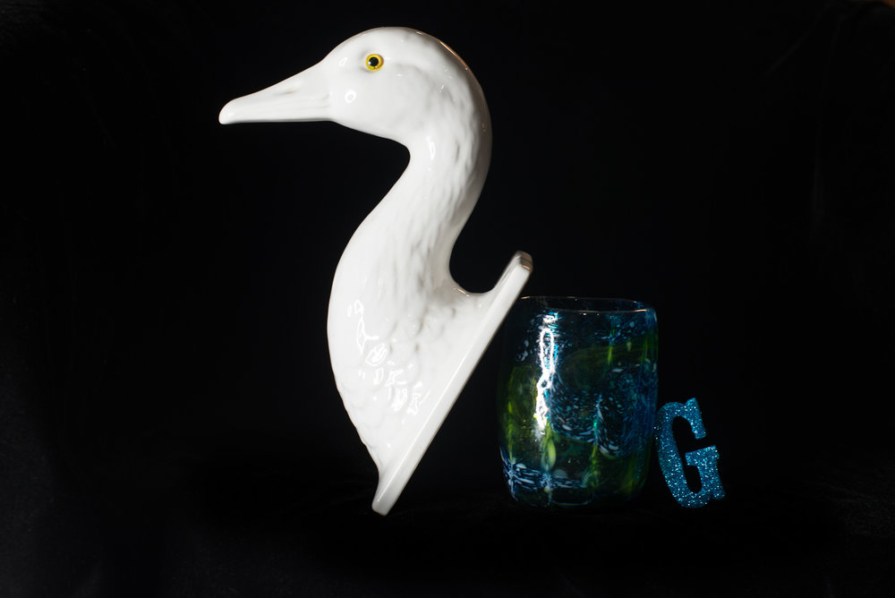 G Goose Glass Glitter