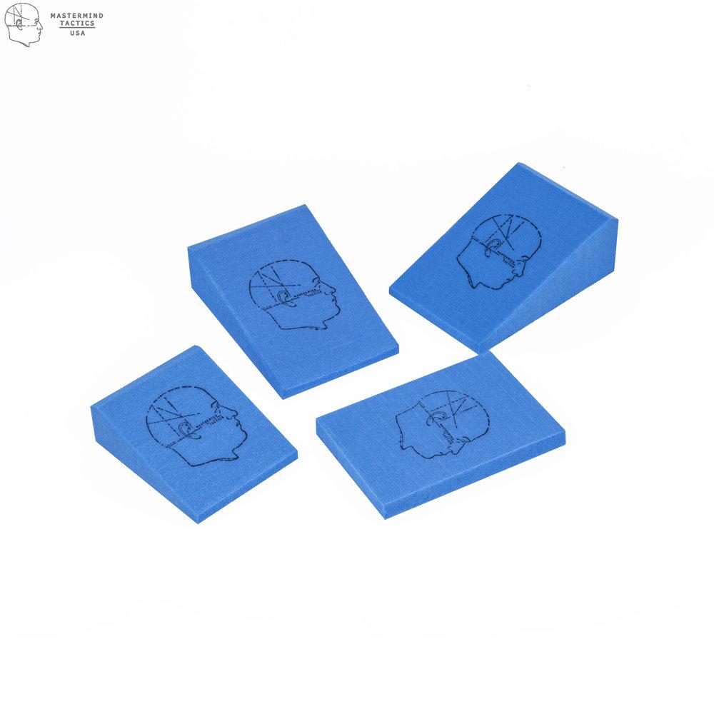 Mastermind Tactics Foam Wedges Blue