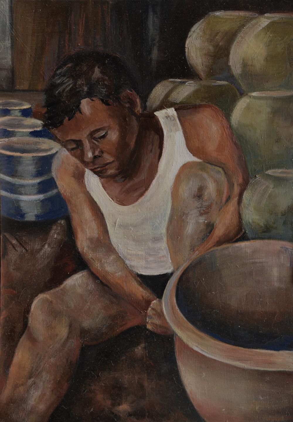 Burmese Potter