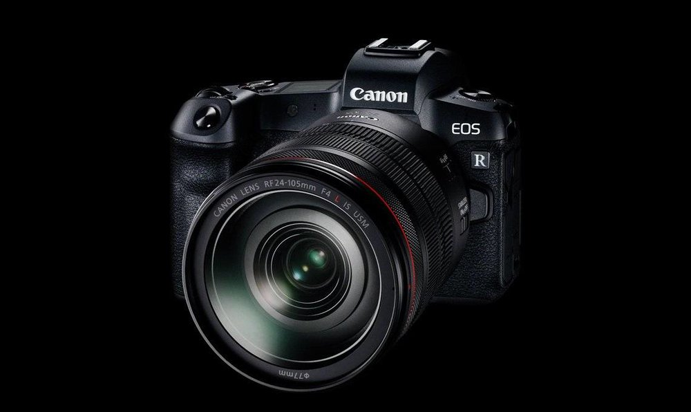Canon EOS R with 24-105 lens