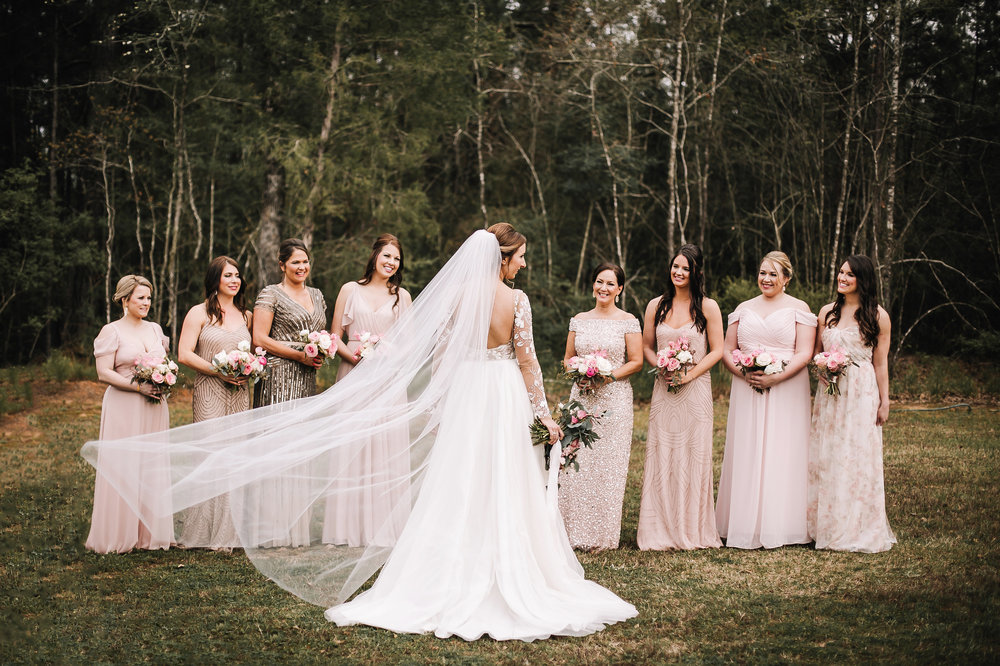 """A Romantic Blush Wedding at Sainte Terre"" - The Knot"