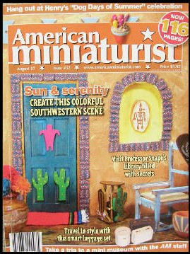 American Miniaturist  Magazine   Issue 52 edition