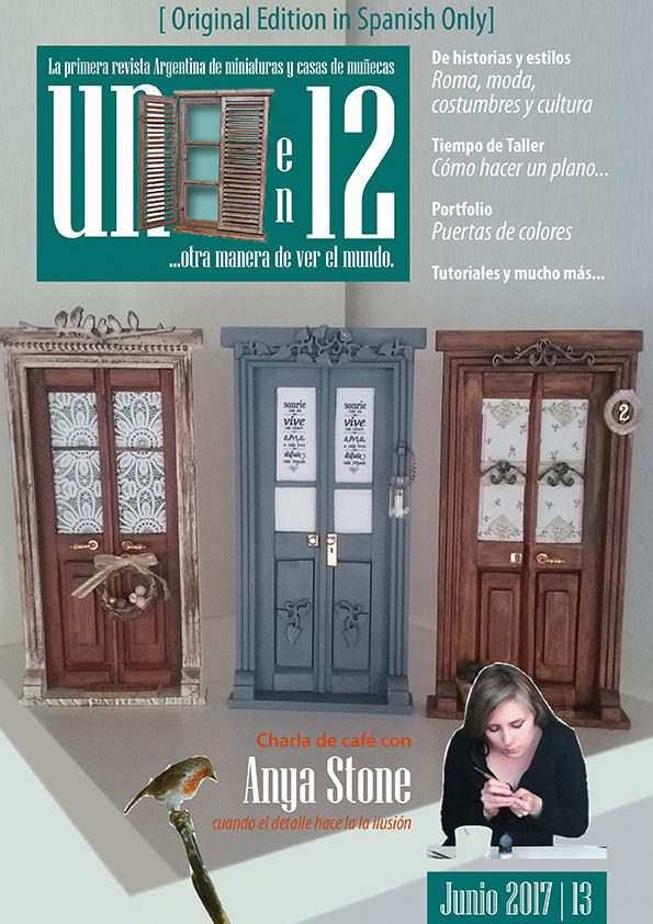 Unoen 12 Revista Magazine Junio 2017  Charla de café con Anya Stone  Spanish language only