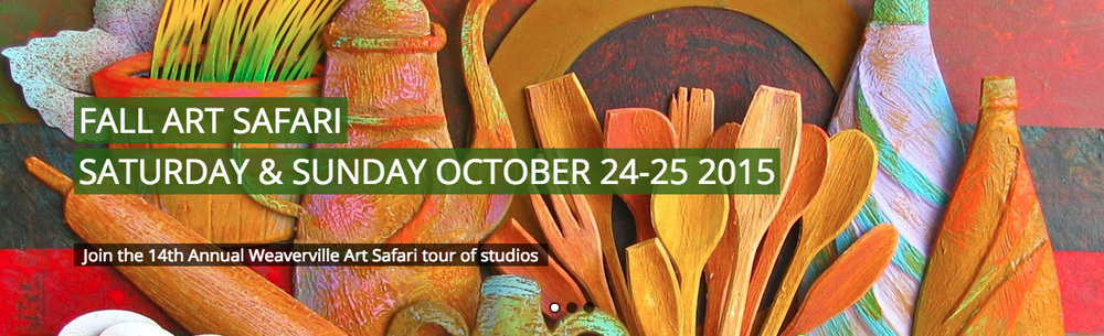 Weaverville Art Safari: Oct 24-25 2015