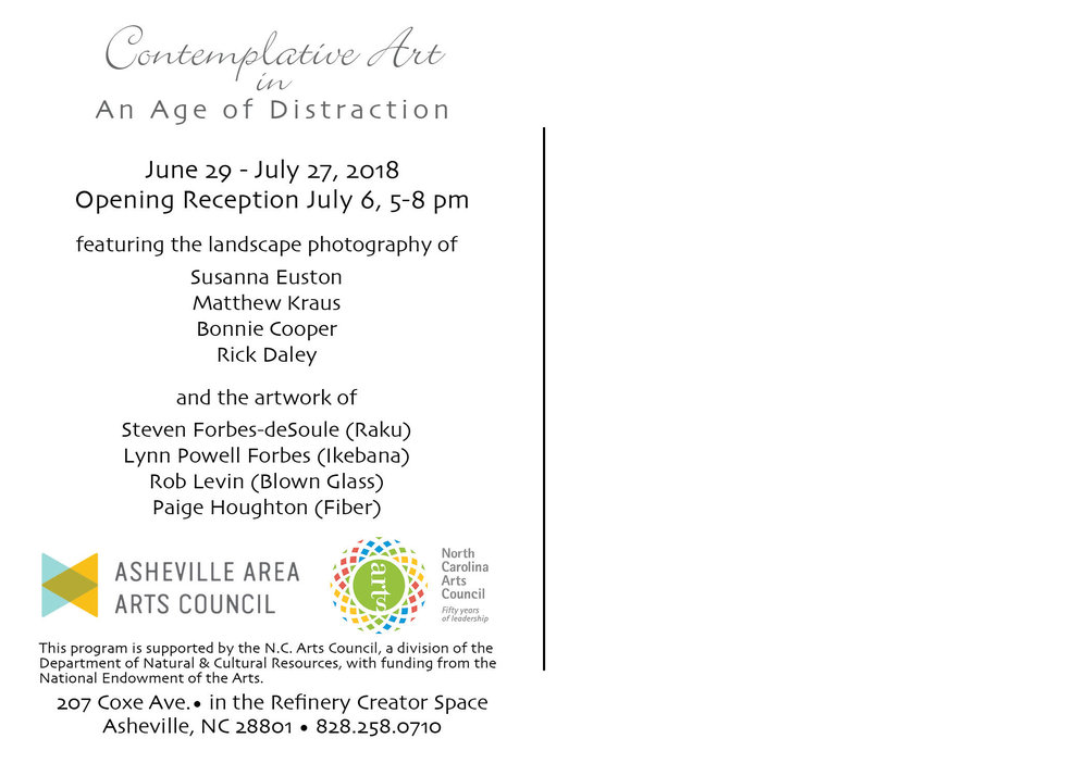 Contemplative Art Exhibit