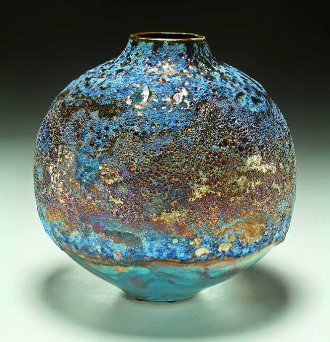 New Raku Pottery from Steven Forbes-deSoule