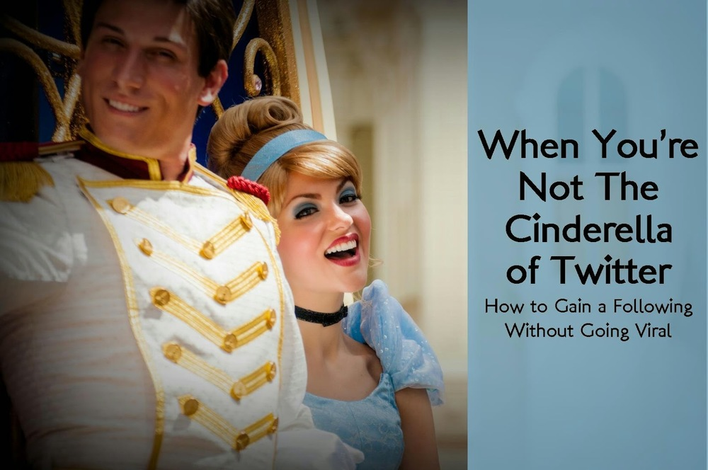 not cinderella twitter social media gain followers
