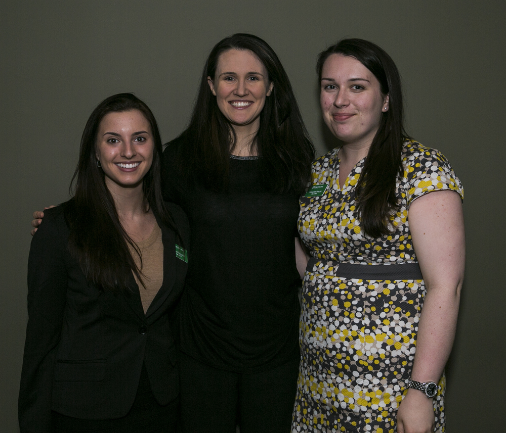 Assisting famous speaker  Liz Murray  during her presentation at York College