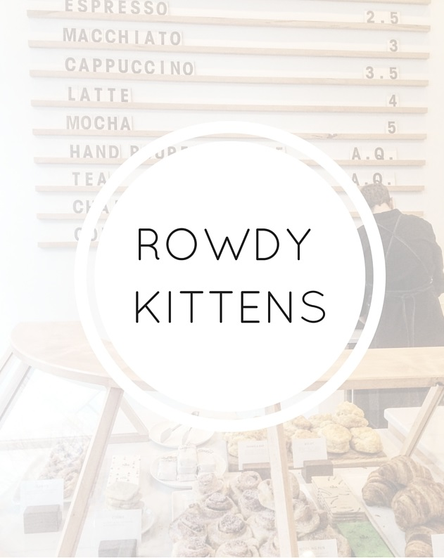 Rowdy Kittens