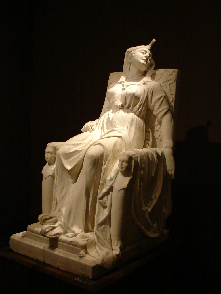 """The Death of Cleopatra"" by Edmonia Lewis"