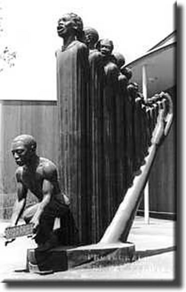 """The Harp"" by Augusta Savage"