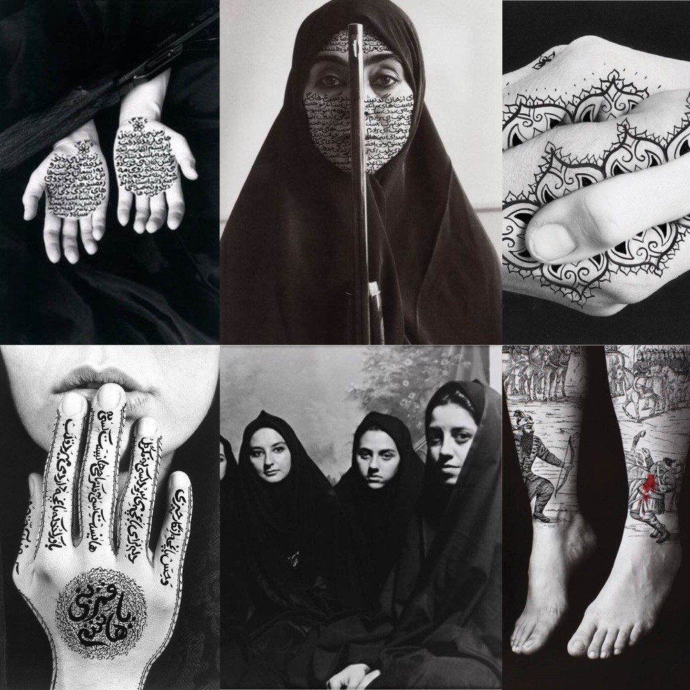 Shirin Nehsat, 1993-1997, Black & White Photography