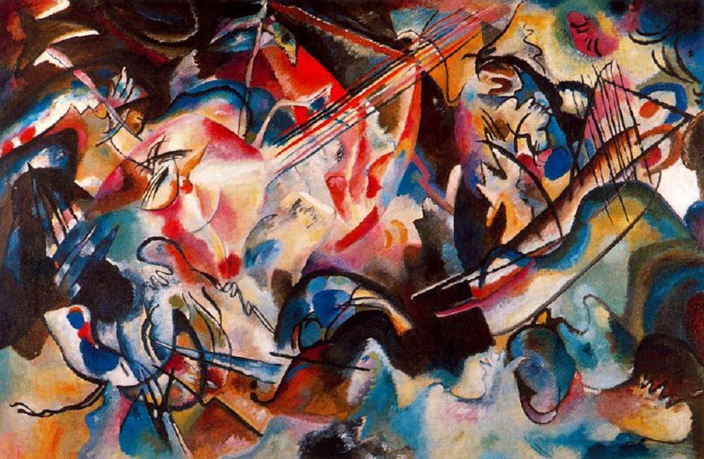 """Composition VI,"" V. Kandinsky"