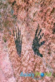 Prehistoric Hand Painting