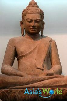 Mon Dvaravati Bronze Buddha