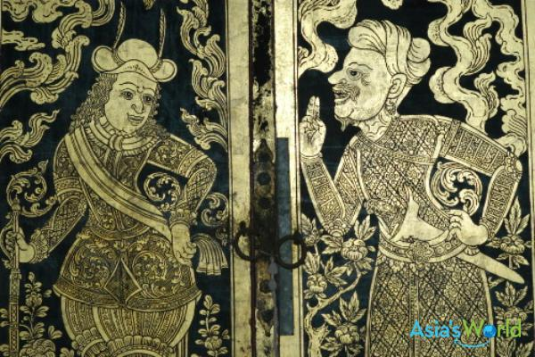Ayutthaya Period Black Lacquer