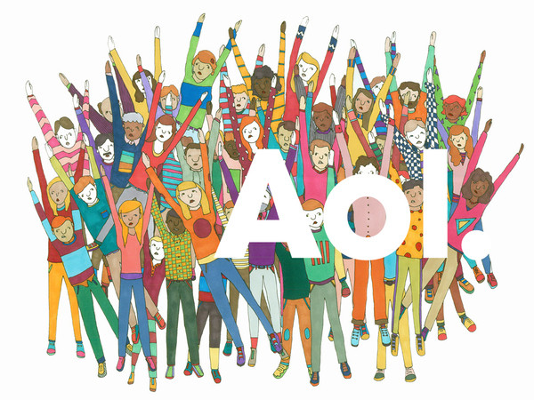 Artwork by Abbi Jacobson for AOL.