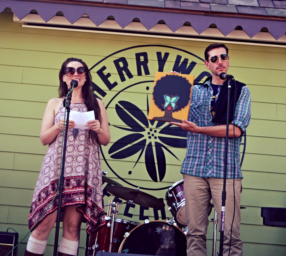 The event was emceed by the amazingly talented Amber Quick & Miles Chick.